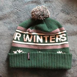 """Patagonia Accessories - Patagonia """"protect our winters"""" beanie 297630b09dc"""